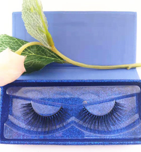 Top Quality Custom Logo Private Label Natural Makeup 3D Mink regular length  Eyelashes