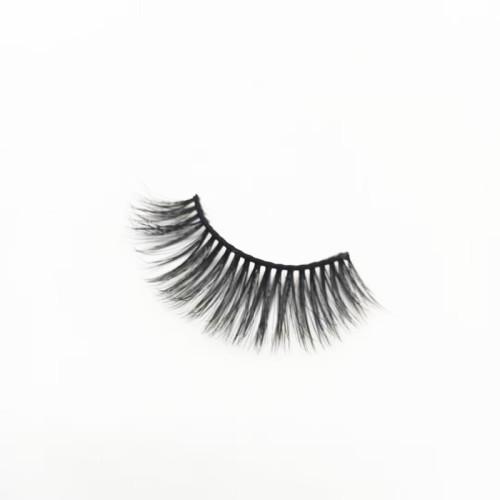 Top Quality Custom Logo Private Label Natural Makeup 3D Mink regular length  Eyelashes