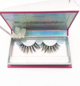 Hand Made mink eyelashes vendor Creat own brand Private Label 3D Mink Eyelashes