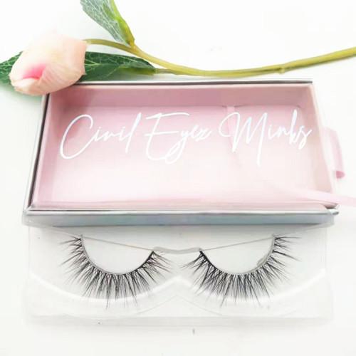 High Quality Real Mink 3D Eyelashes Own Brand Eyelash Vendors