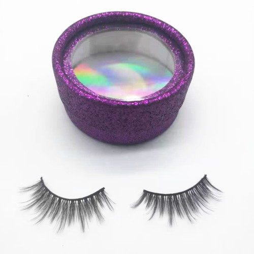 Best Quality Full Hand Made Real Fur Strip 3D Mink False Eyelash With Private Label