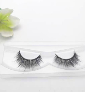 Factory new synthetic false eyelashes strips 3d silk lashes