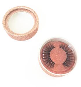 False eyelashes manufacturer classic box design for wholesale silk mink eye lashes