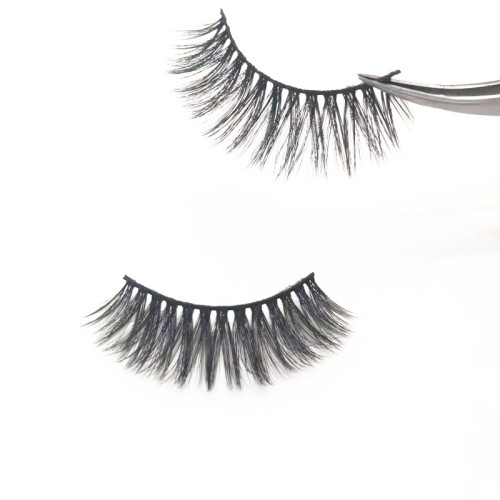 False eyelashes manufacturer classic box design for wholesale silk mink eye lashes