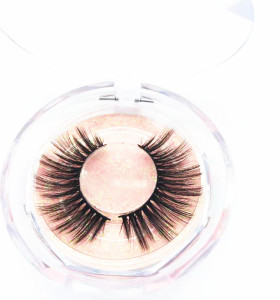 Top quality silk eyelash with custom logo and package from China false eyelashes vendor