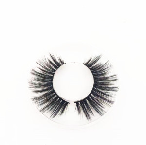 Top quality silk eyelash with custom logo and package from China false eyelashes vendor