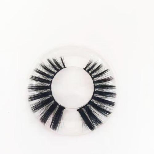 Super Soft Own Brand Professional silk mink eyelash natural Black Color