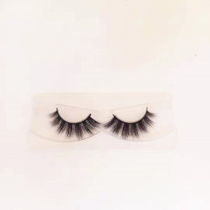 Natural Looking Mink Fur Eye Lashes Soft Band