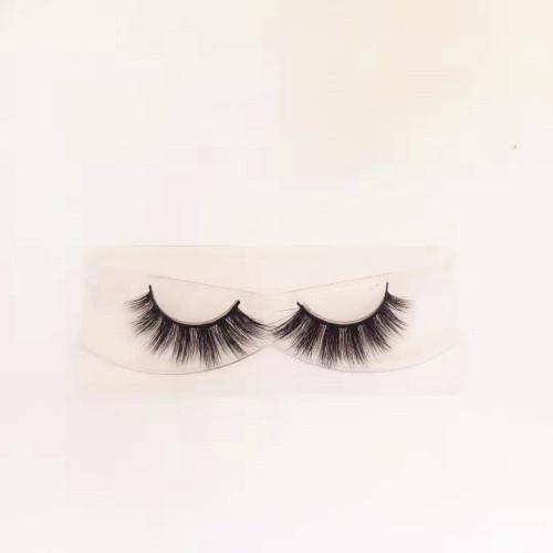 Natural Looking Mink Fur Eye Lashes Soft Band