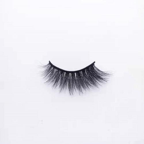 Newest popular style customized natural long mink eyelashes