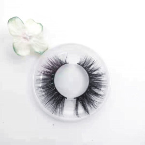 Newest popular style customized natural long mink eyelashes