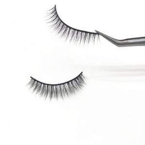 Hand Made eyelashes vendor, Creat own brand Private Label 3D Silk Eyelashes Custom Packaging