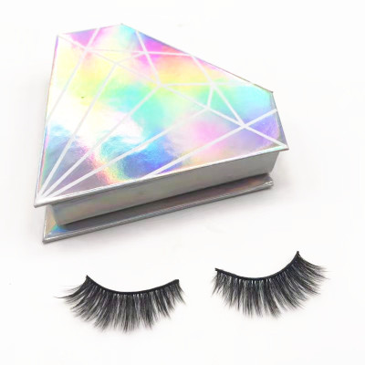 Qingdao luxury high quality Create Your Own Brand Eyelashes 3d  Lashes