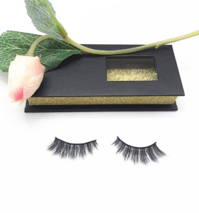 Qingdao Veteran professional wholesale faux mink eyelashes packaging box eyelashes