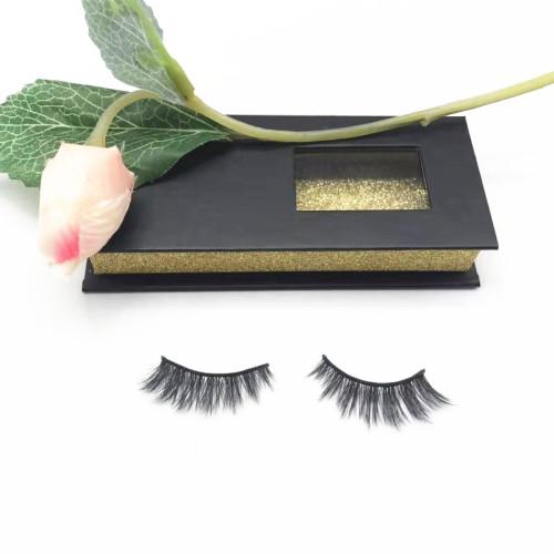 Qingdao Veteran professional wholesale faux mink eyelashes packaging box eyelashes