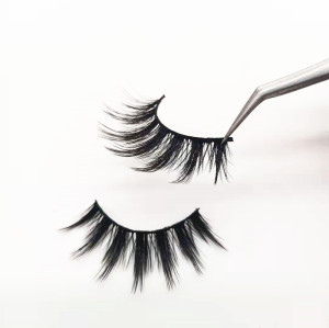 Wholesale Private Label handmade 3D faux mink eyelashes Luxury Eyelashes