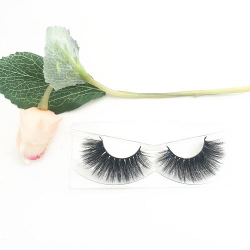 Faux mink eyelashes vendor wholesale bottom mink lashes natural long private label eyelashes