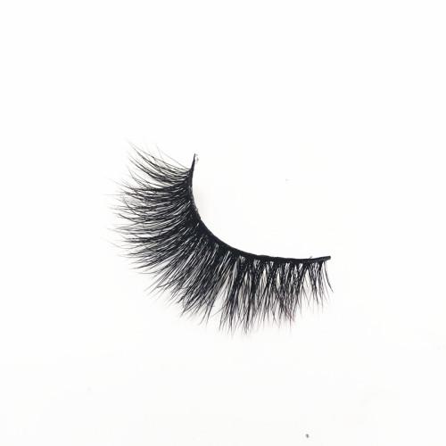Clear band 3D mink lashes 100% mink eye lashes false eyelashes oem accepted