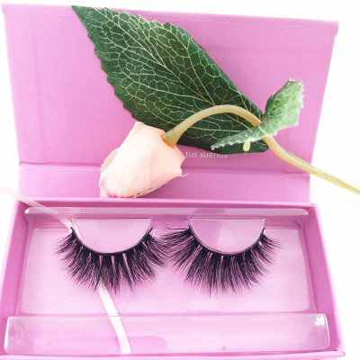 Wholesale eyelash vendors mink eyelash natural length  cruelty free eyelashes for Packaging custom logo