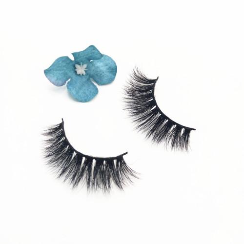 Wholesale eyelash vendors mink eyelash natural length  cruelty free eyelashes for Packaging custom logo