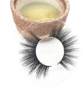 Various styles 3D Mink False Lashes  good quality Custom Packaging Mink Eyelashes