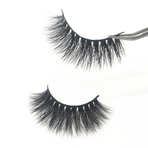 Handmade real mink fur false eyelash  thick fake faux eyelashes Makeup beauty False Eyelashes