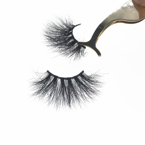 Wholesale Eyelashes Custom 25mm Mink Eyelash Strip Lashes Packaging Box