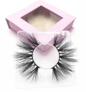 High quality lashes wholesale vendor custom lash case 100% handmade eyelashes