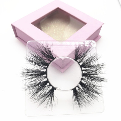 High quality lashes wholesale vendor custom lash case 100% handmade eyelashes