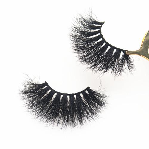 False Eyelashes Wispy Lightweight Strip mink Lashes with package boxes