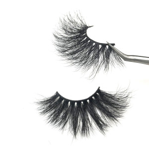 Mink Lashes Natural False Eyelashes Handmade Fake Eye Lashes for Beauty Makeup