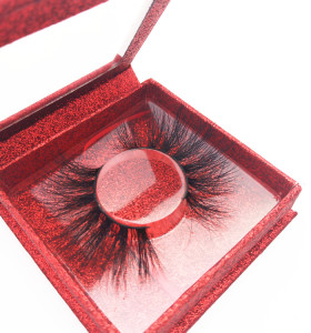 Veteran custom made eyelashes wholesale empty lash boxes individual mink eyelashes vendors