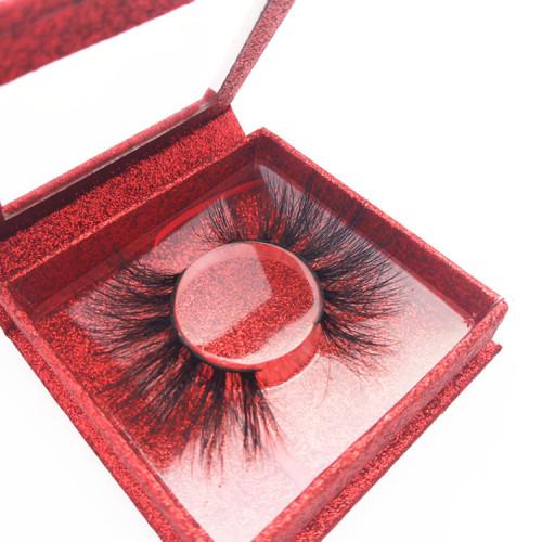 Veteran custom made eyelashes wholesale empty lash boxes individual mink eyelashes vendors