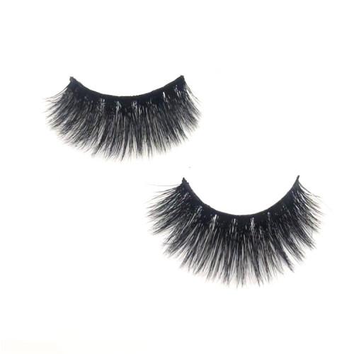 Professional mink fur eyelash vendor private label mink eyelash wholesale individual mink eyelashes