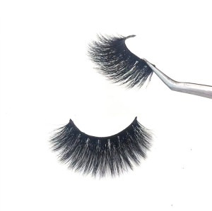 Professional mink fur eyelash vendor private label mink eyelash wholesale individual mink eyelashes