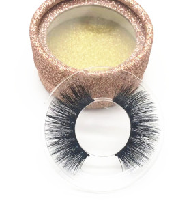 Best sell Customized Styles 100% Hand Made Premium Mink eyelashes accept custom packaging