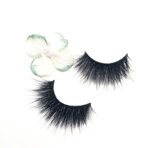 New Comfortable mink strip private label  real mink eyelashes vendor