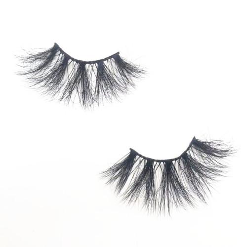 luxury 25mm Mink Eyelash Cruelty-free Full Volume eyelashes New Style mink Eyelashes