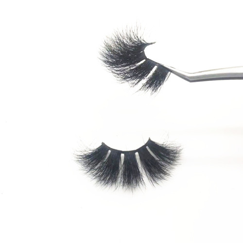 Best Selling eyelashes mink custom eyelash packaging Luxury beautiful  100% Fur mink eyelash
