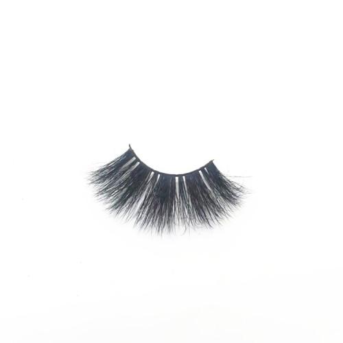 China Supplier 25mm eyelashes, private label hand mink eyelash, Wholesale real mink eyelashes