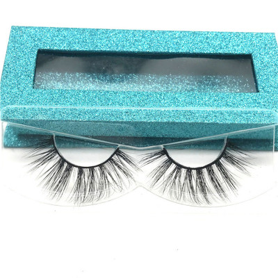 Wholesale real mink eyelashes korean natural eyelashes, 3d mink eyelash private label vendors