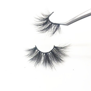 Wholesale fashion stripe false lashes mink eyelashes vendor