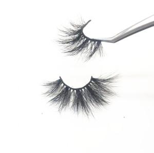 Wholesale fashion stripe false lashes mink eyelashes vendor