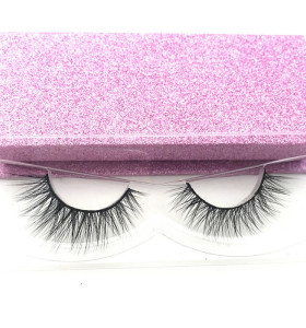 Eyelashes mink vendors wholesale 3d real mink eyelashes private label customer eyelashes boxes