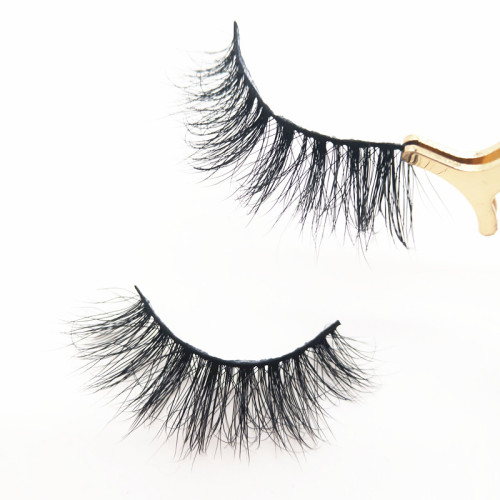 High quality 3d mink lahes  natural mink lash with private label wholesale mink lashes