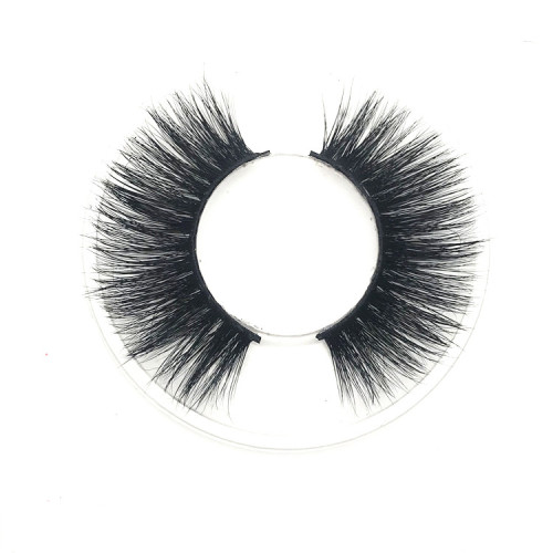 Popular fluffy mink lashes  mink eyelash cruelty free  with high quality 100% handcrafted
