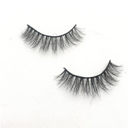 China Wholesale Luxury Natural Looking 3d Mink private label mink eyelashes