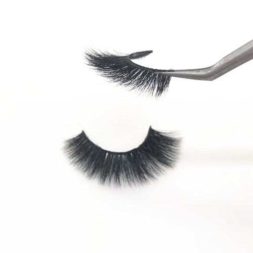 100% siberian mink lashes custom made eyelashes wholesale  individual mink eyelashes with packaging