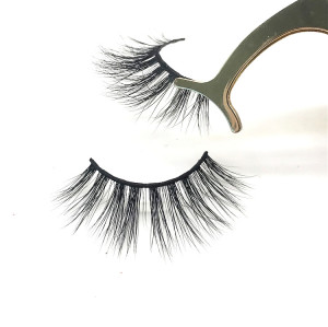 2019 3d mink lashes eyelash factory wholesale high quality private label eyelashes