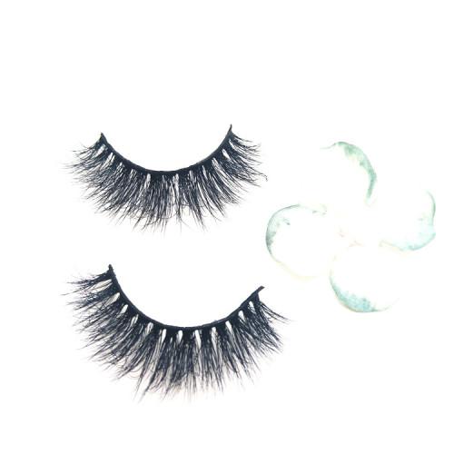 High Quality 3D Mink False Eyelashes Packaging Box custom Logo Factory OEM Full Strip Eyelashes Box